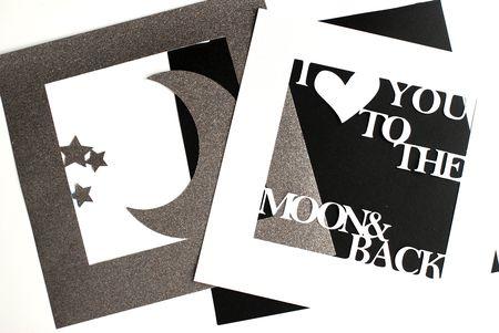 i love you diy sentiment 3d shadowbox tutorial