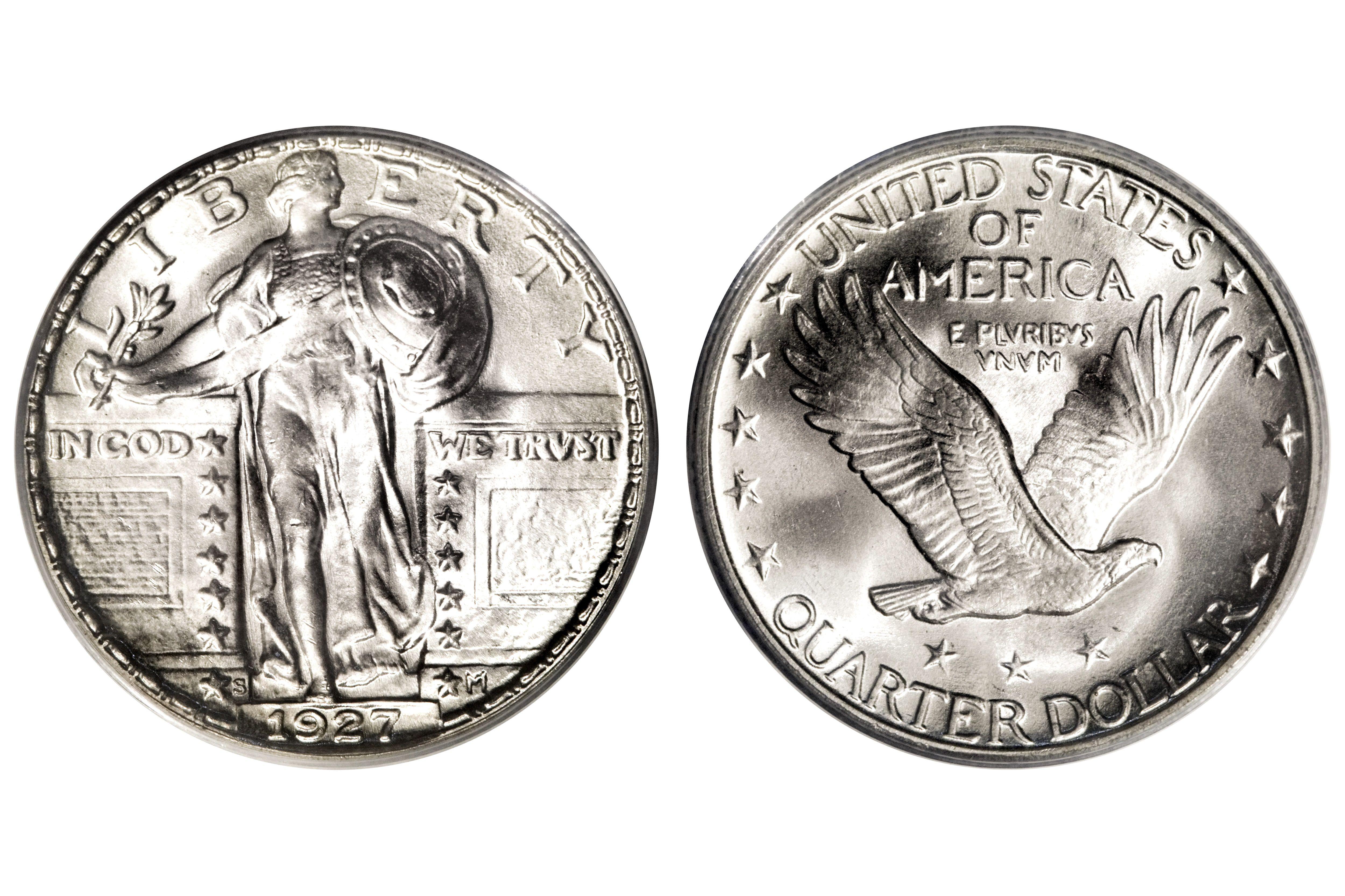 1927-S Standing Liberty Quarter