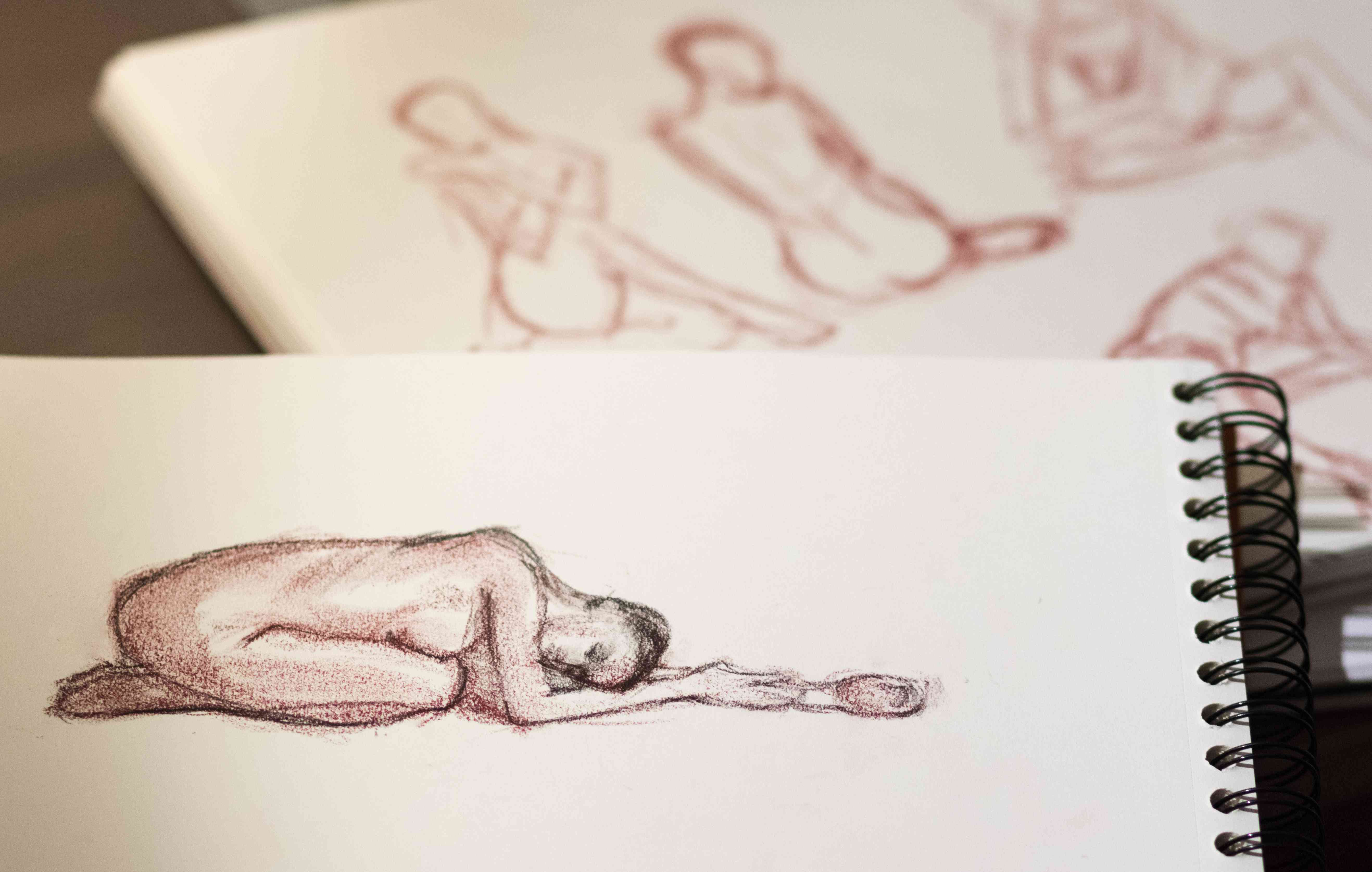 figural drawing ideas
