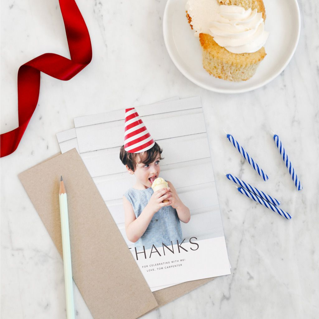 """Greeting Card /""""simply thank you/""""Thanks Card folding card"""