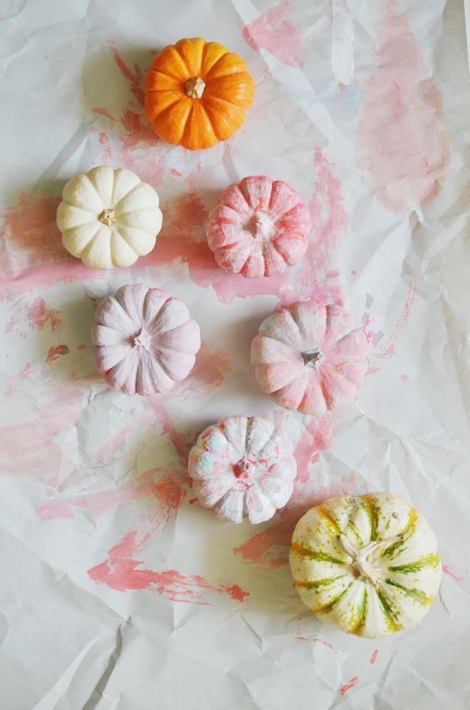 Abstract Art Pumpkins