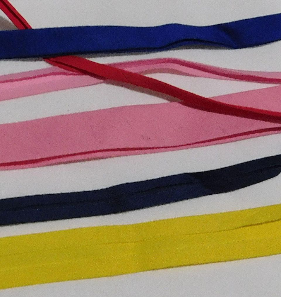 Double Fold Bias Tape and Single Fold Bias Tape in Various Sizes