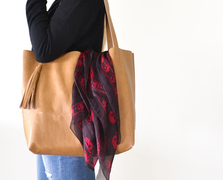 zipper leather bag leather shopping bag hobo GRAY leather shoulder bags handmade leather bag leather shopper bag leather tote bag