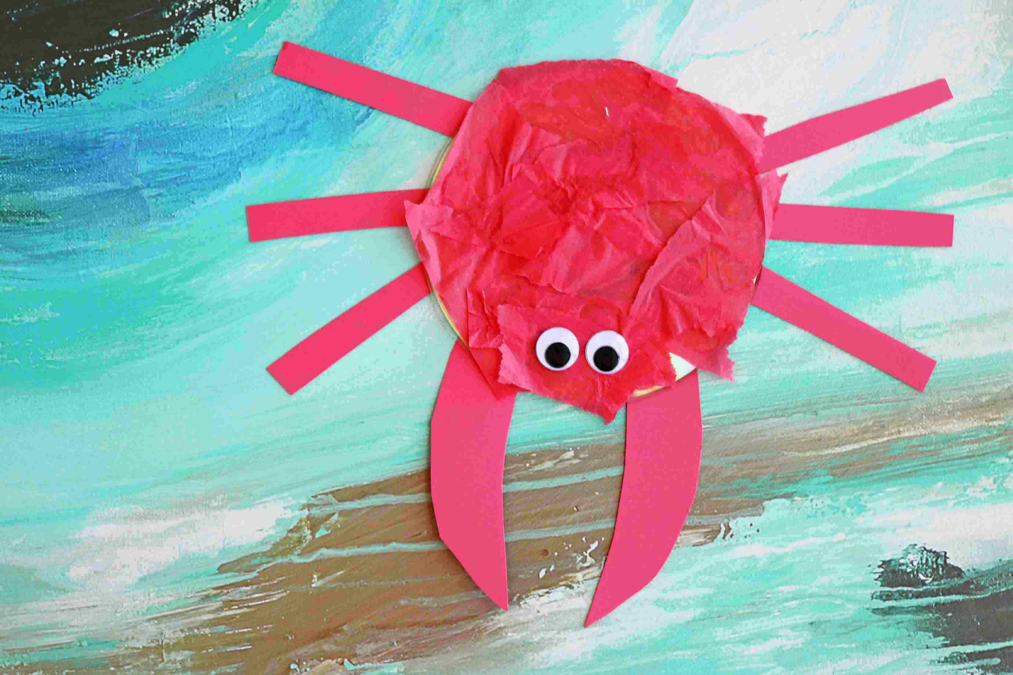 Recycled CD Crab