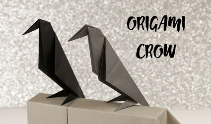 Origami Crow Tutorial 01