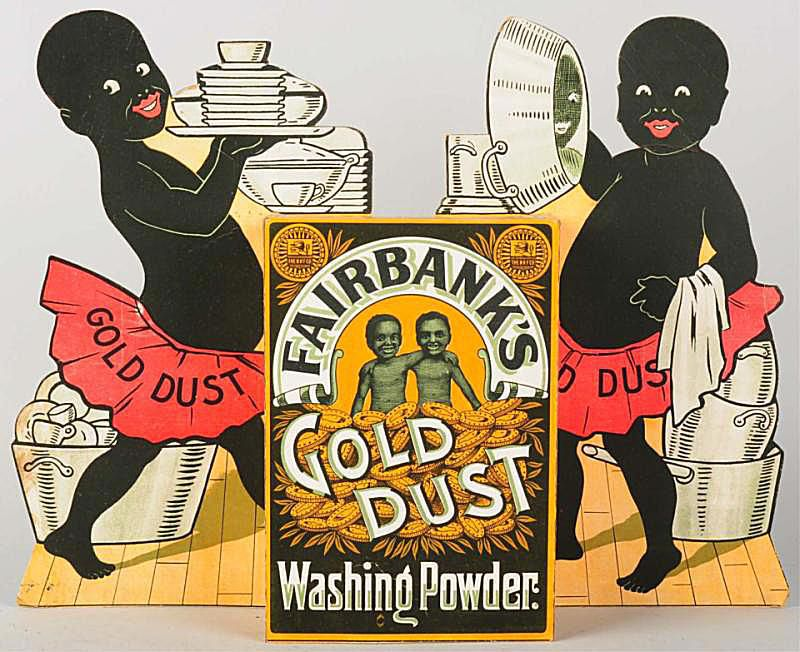 Gold Dust Twins Advertising Cut Out