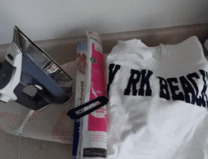 tools to press shirt