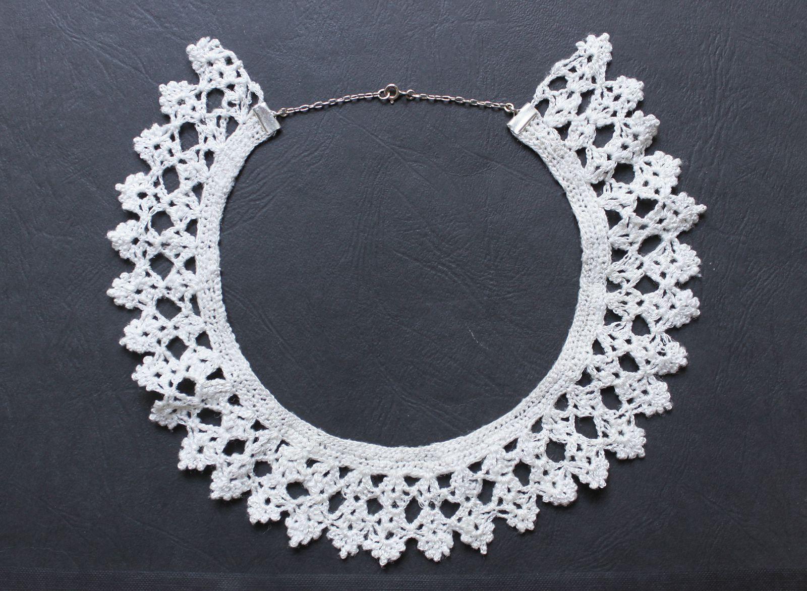 10 Crochet Lace Collar Patterns