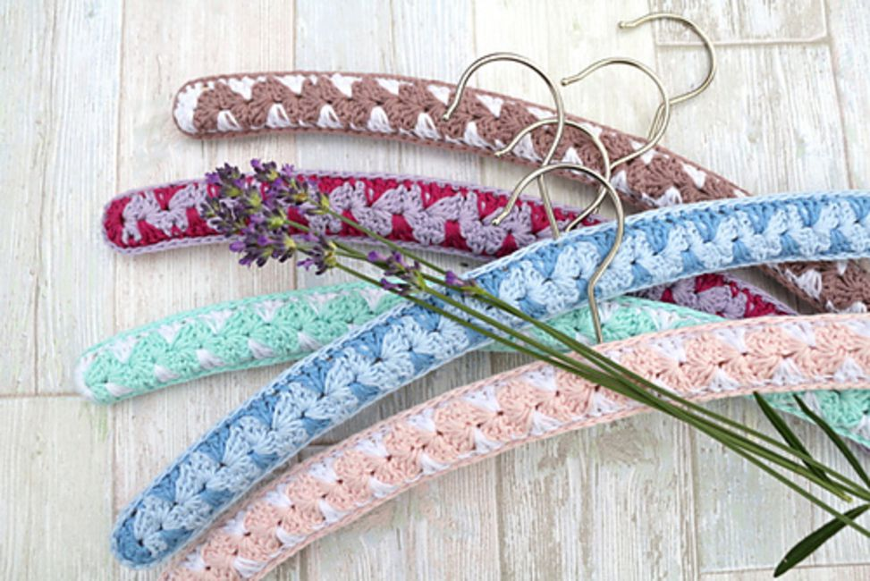 Crochet Coat Hanger Free Pattern