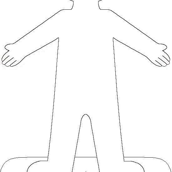printable paper doll body