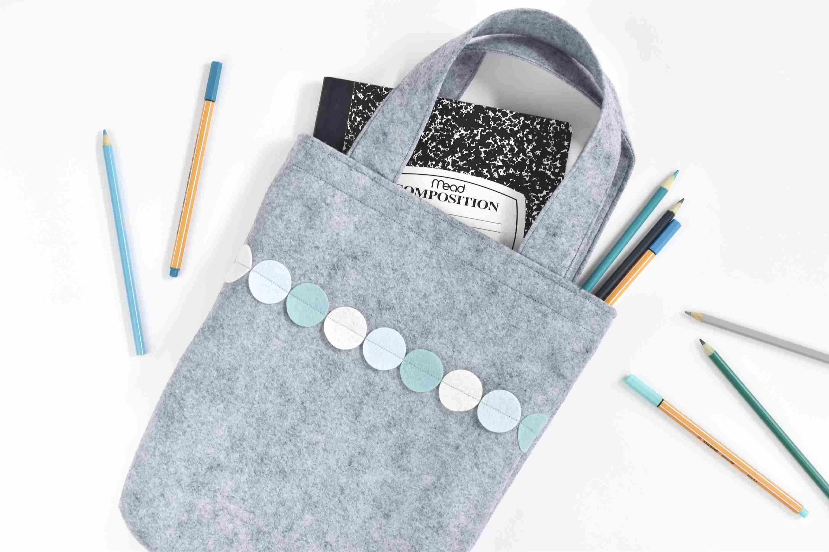 Sew an Easy Felt Tote Bag