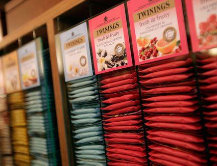 tea bag stacks