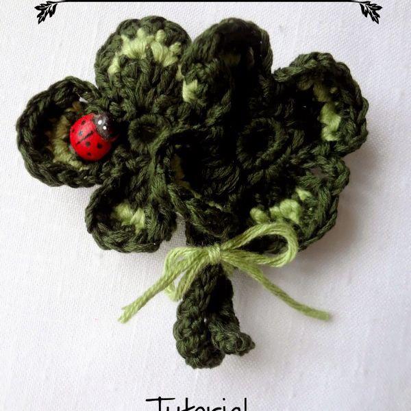 Crochet Shamrock Free Tutorial