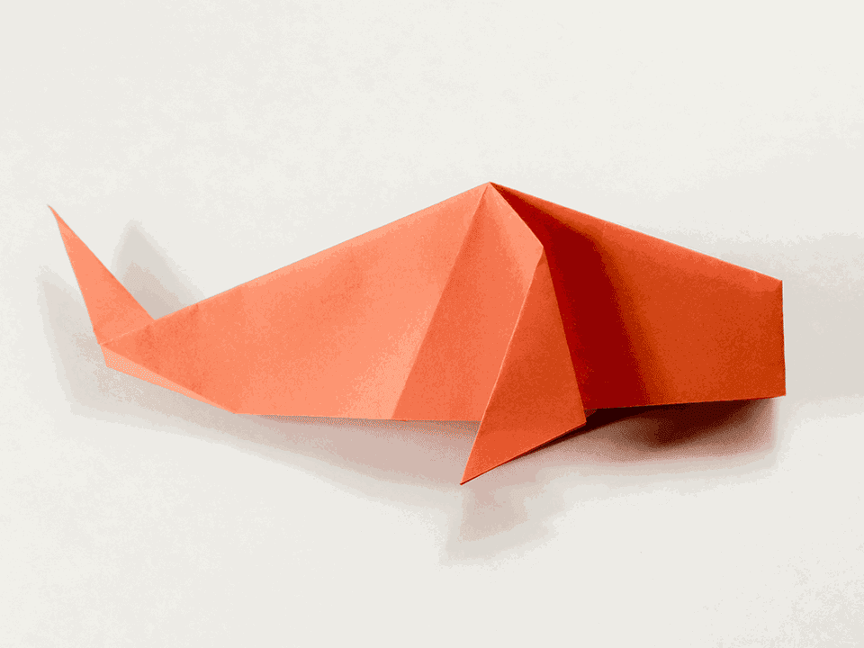 Traditional Origami Fish Tutorial