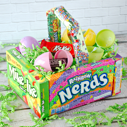 Learn how to prepare decorate and enjoy easter eggs 24 easter basket ideas we love negle Choice Image