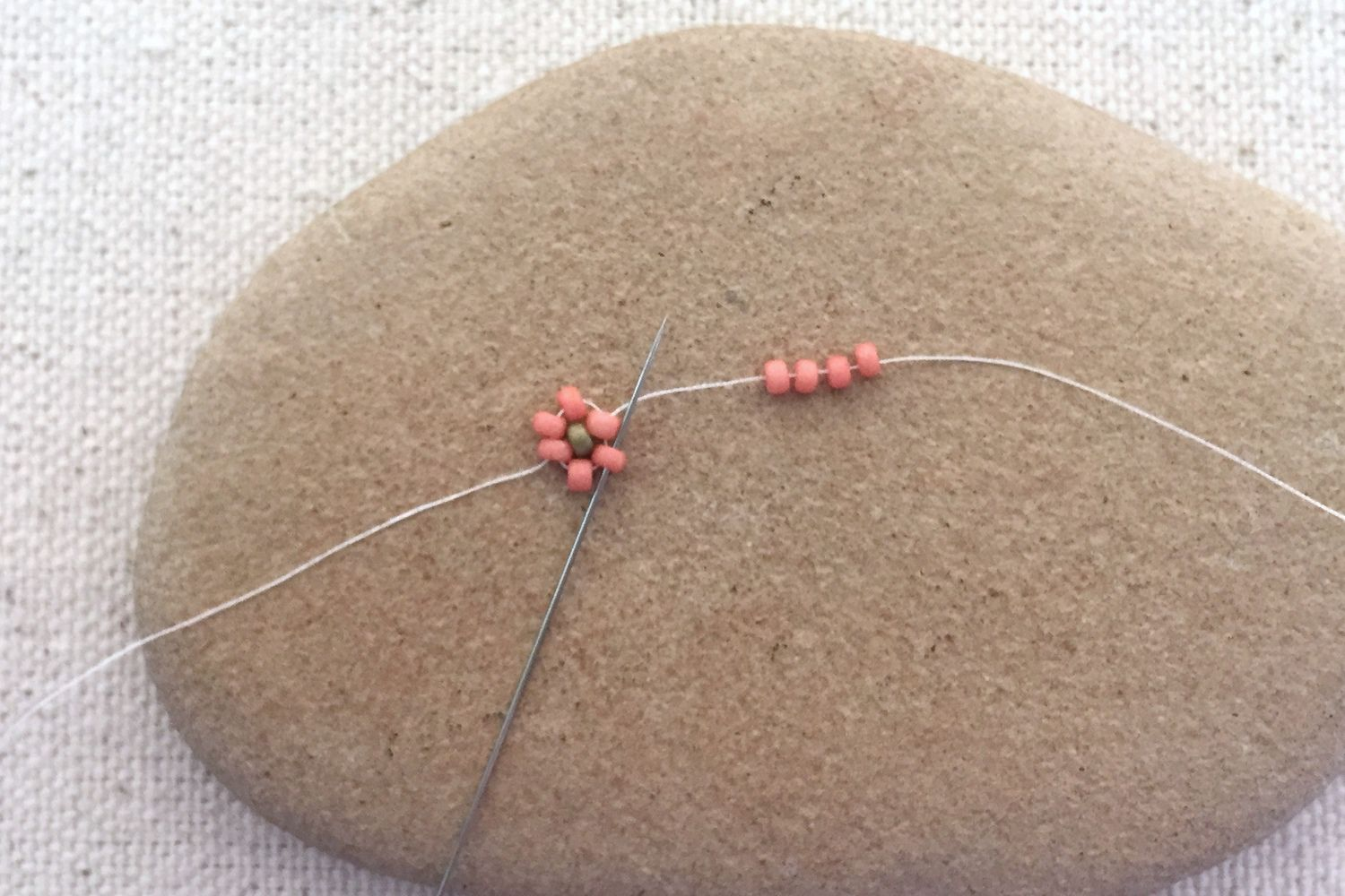 Instructions for Flower Bead Collars