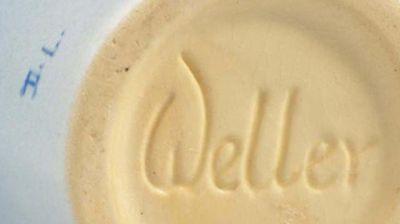 Weller Hudson Vase Mark