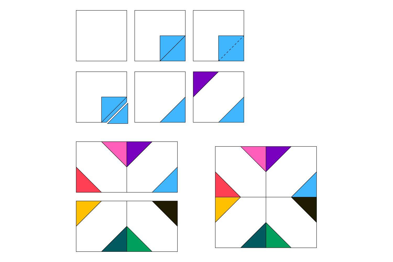 Make X Quilt Blocks