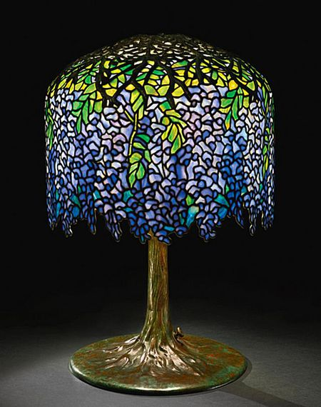 tiffany leaded glass lamps - Antique Lamp