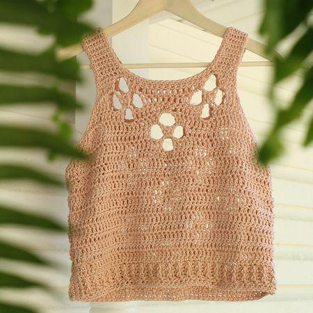 10 Crochet Tank Tops Patterns