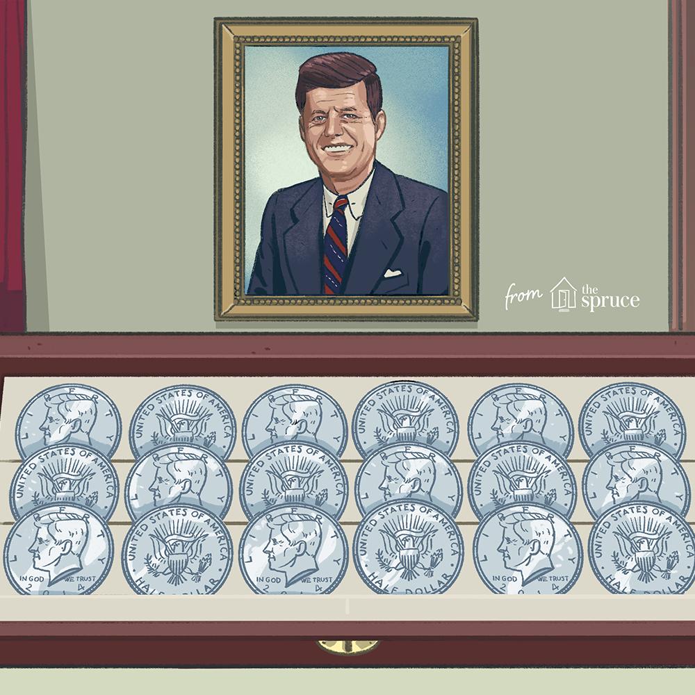 MAKE OFFER $3.00 Face Value Kennedy Franklin Roosevelt Walking Washington
