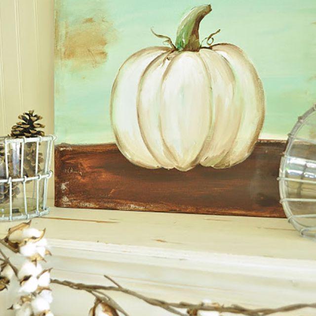 pumpkin painting diy