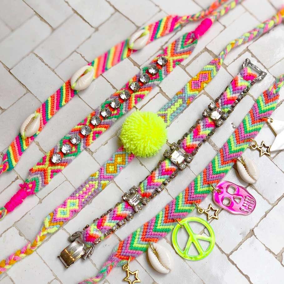 How to Embellish Friendship Bracelets