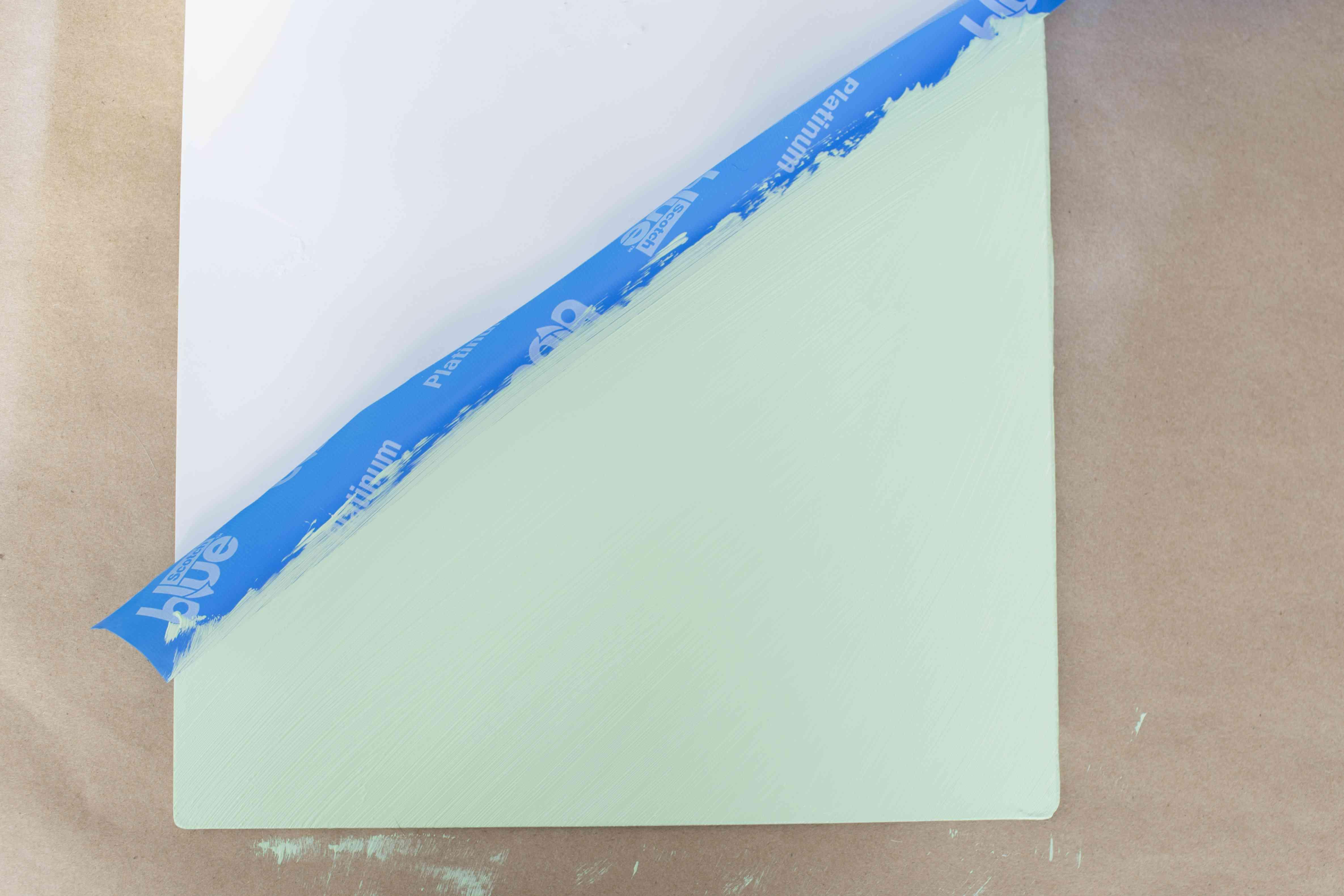 Add mint green paint