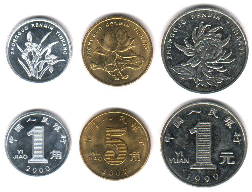 These coins are currently circulating in People's Republic of China as money.