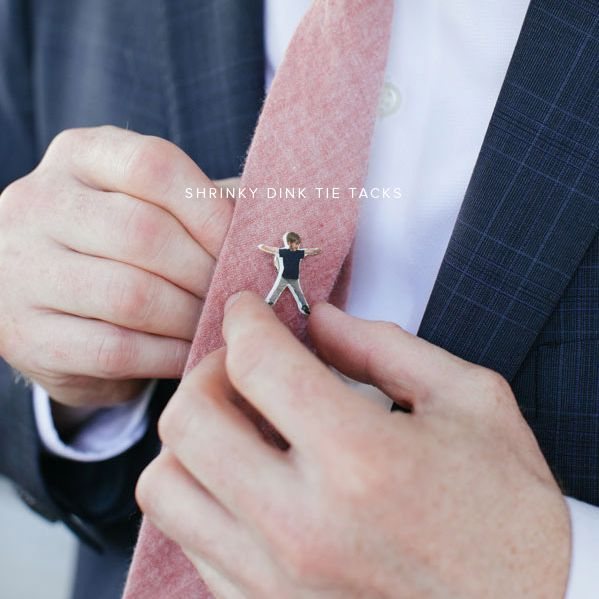DIY Personalized Tie Pin