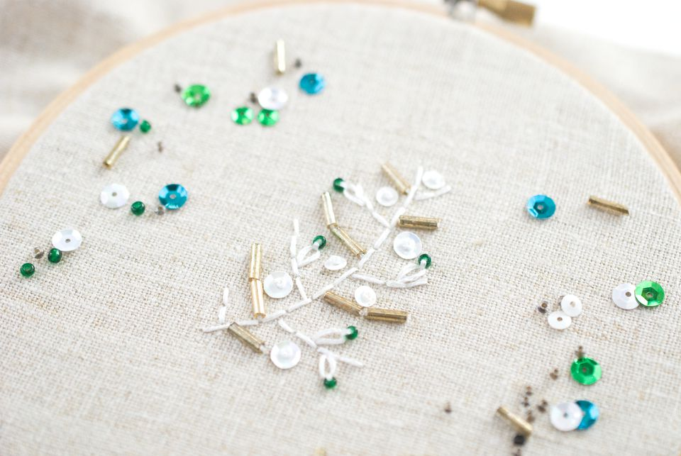 Beads & Sequins Add Sparkle & Shine