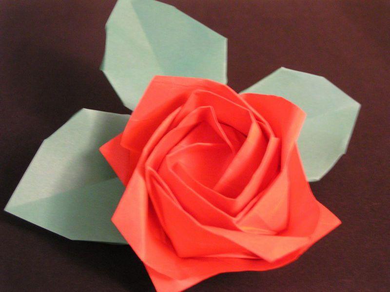 Flat Origami Flowers Flowers Healthy