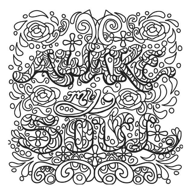 Spring Tracing Coloring Pages - Itsy Bitsy Fun | 640x640