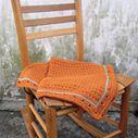 Simple Crocheted Baby Blanket
