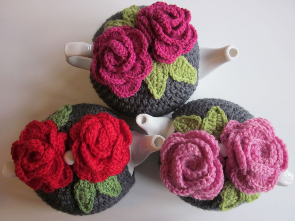 14 Free Tea Cozy Crochet Patterns