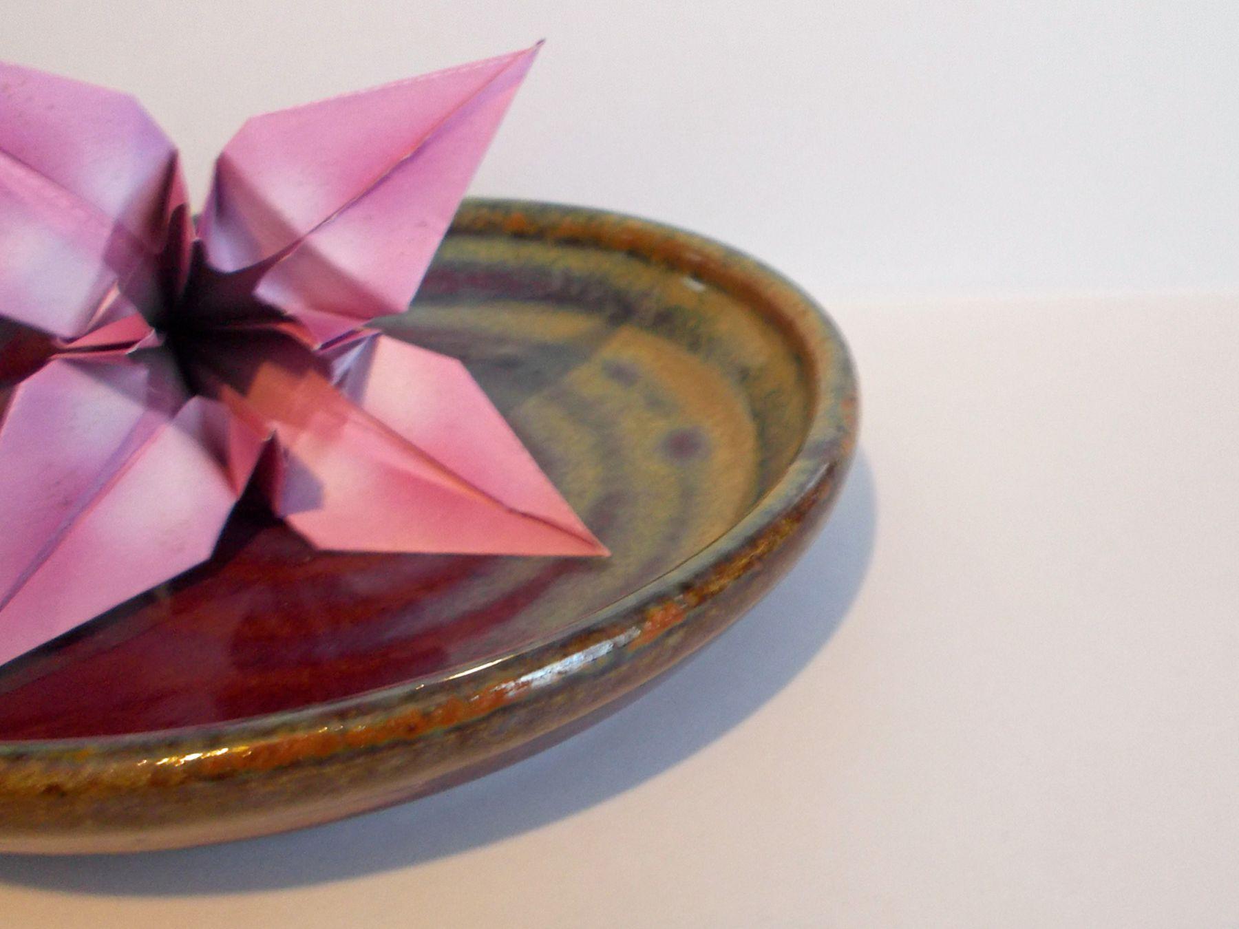Folded origami decoration // Accordion folding | MINI ECO | 1350x1800