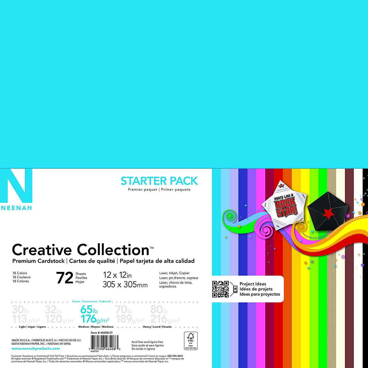 Neenah Creative Collection Classics Specialty Cardstock Starter Kit