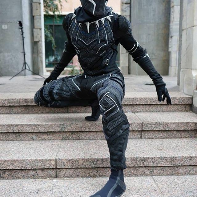 diy superhero costume black panther