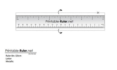Inspirational Inches Ruler Actual Size