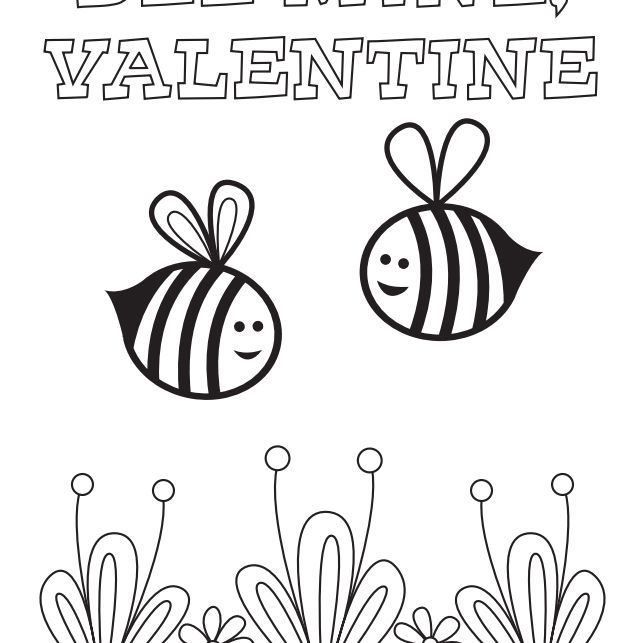543 Free Printable Valentine's Day Coloring Pagesrhthesprucecrafts: Coloring Pages For Valentines Day At Baymontmadison.com