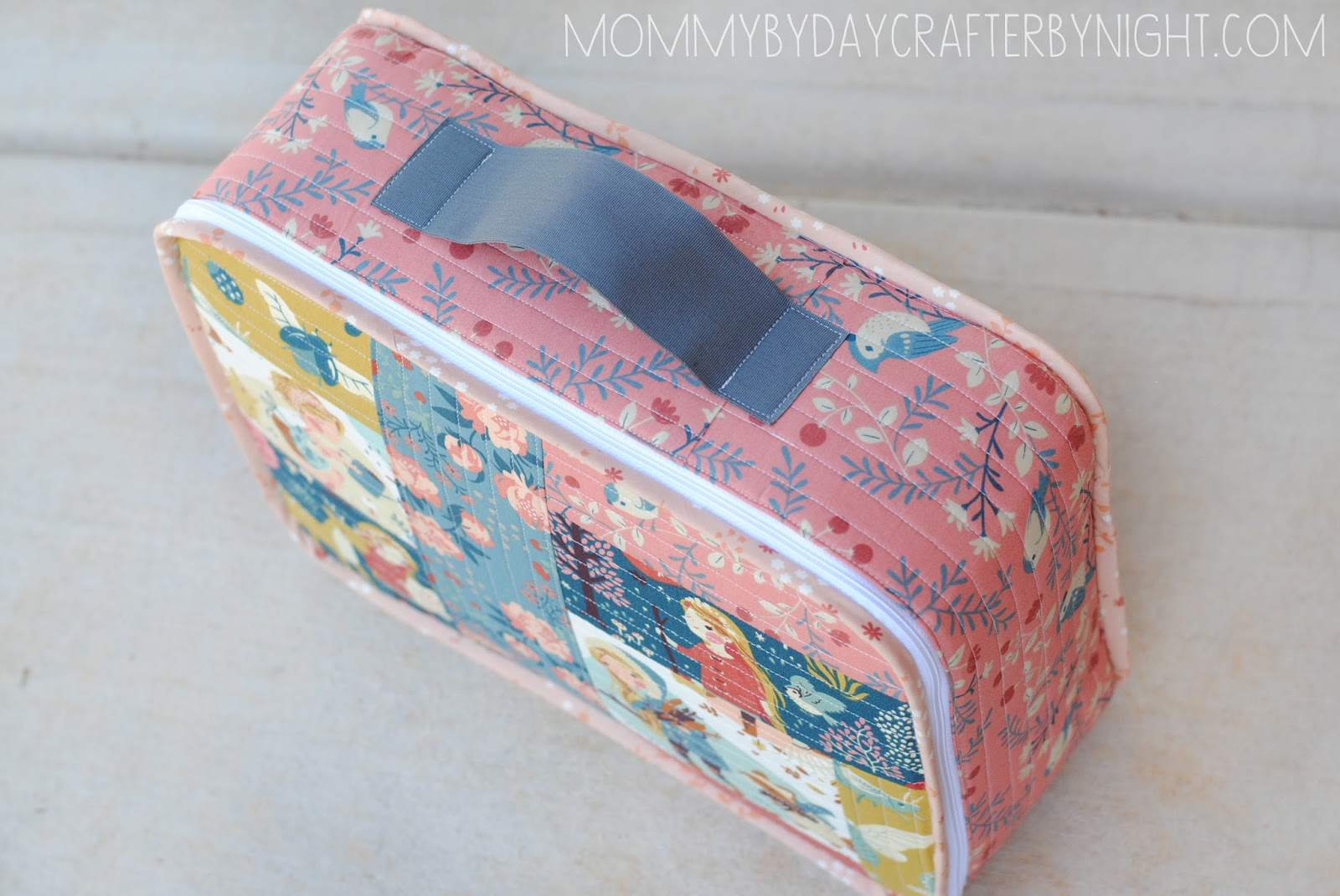 Quilted Suitcase