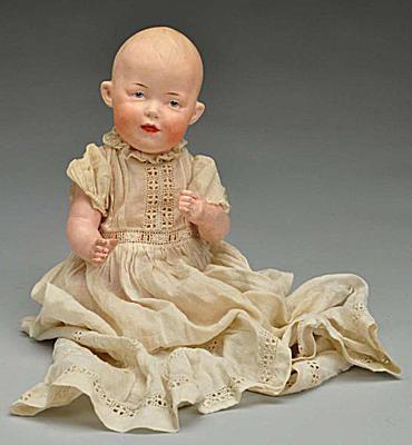 Heubach Character Baby Doll
