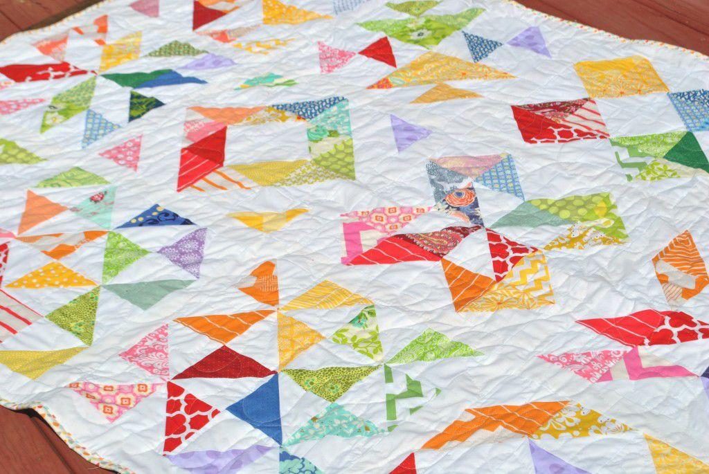 Rainbow Run Sampler Quilt Pattern