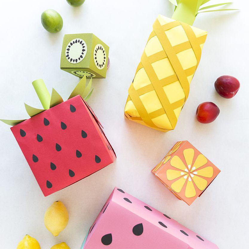 gift wrap that looks like fruit