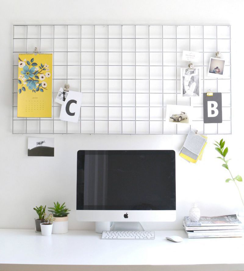 diy metal memo board