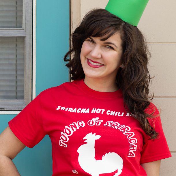 DIY Sriracha Costume
