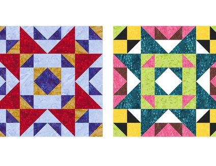 Interwoven Squares A Contemporary Quilt Pattern
