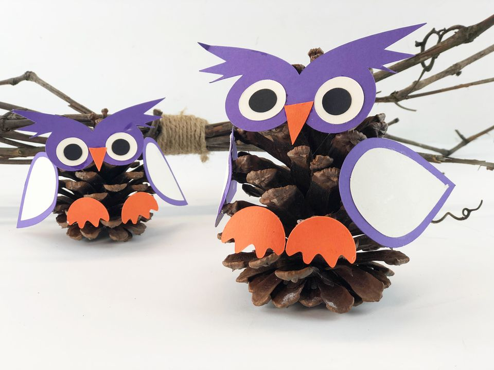 2 pinecone owls