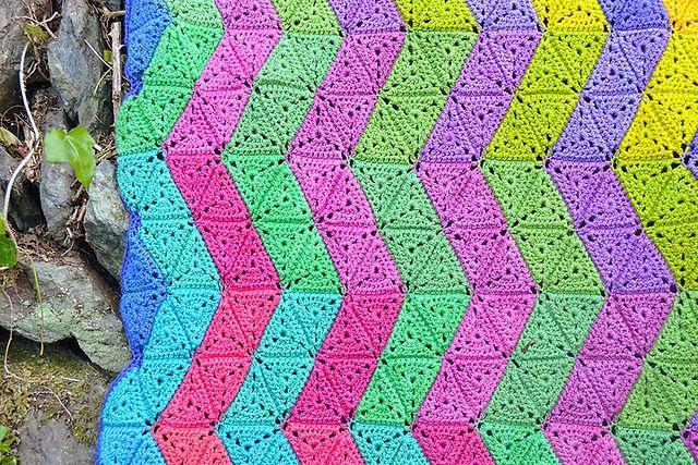 ZigZag Crochet Blanket