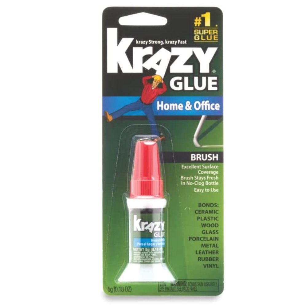Krazy Glue Home and Office Brush-On Glue